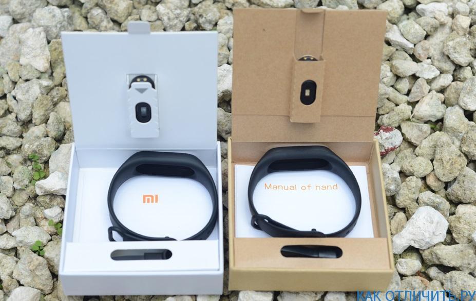 Браслет Xiaomi Mi Band 2: сравнение оригинала и подделки