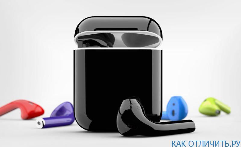 цветных наушников AirPods