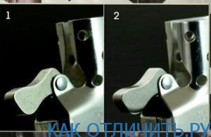 оригинальная и поддельная зажигалка Zippo