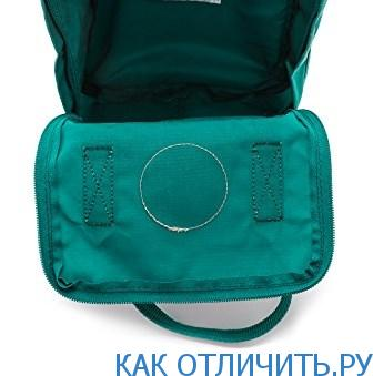 Водоотталкивающий материал рюкзака Fjallraven Kanken