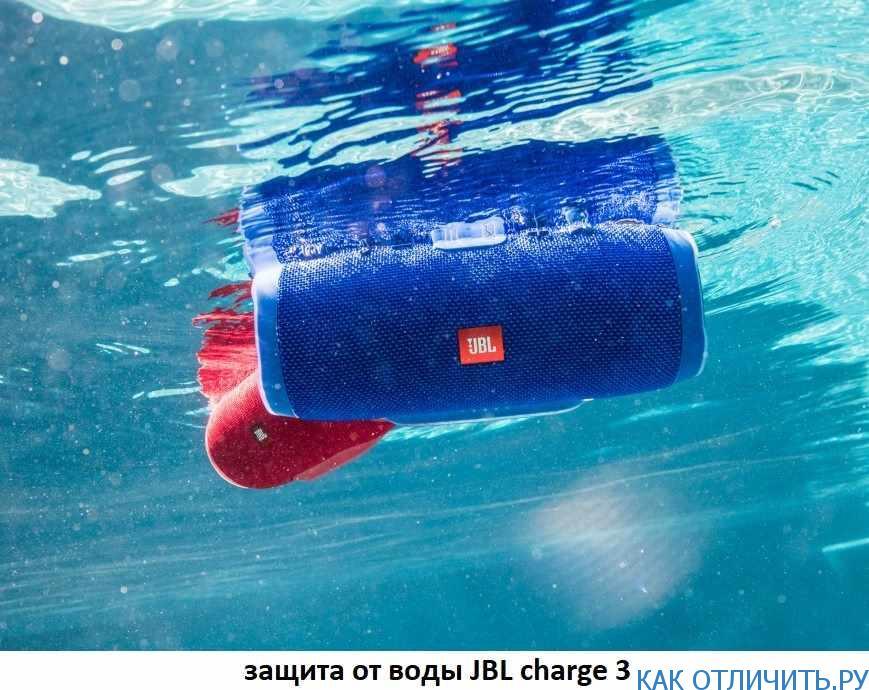 Защита от воды JBL Charge 3