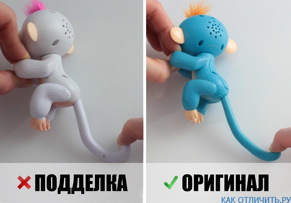Отличия оригинальной и поддельной игрушки
