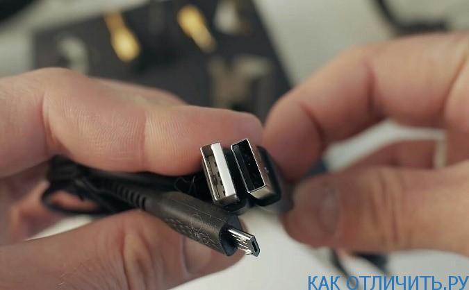 USB-кабель наушников