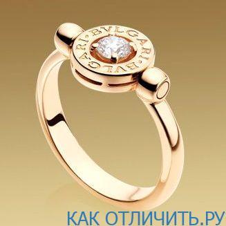 Оригинальное кольцо Bulgari