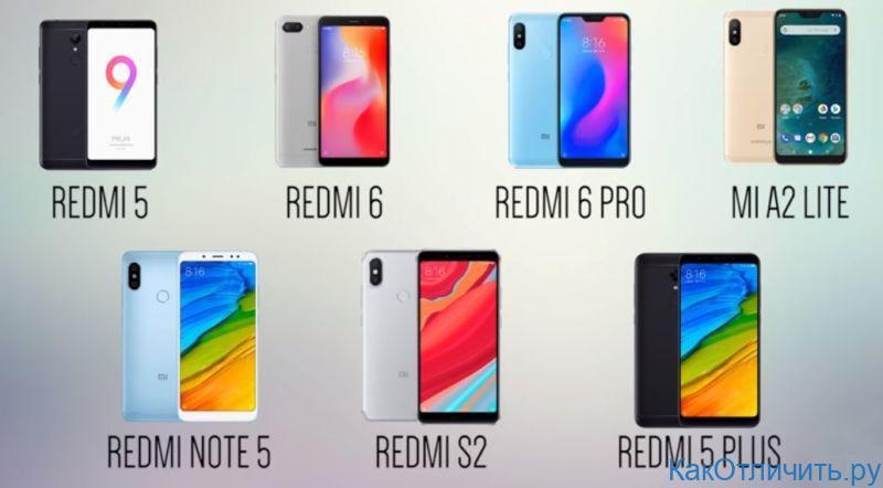 Xiaomi от 100 до 200$