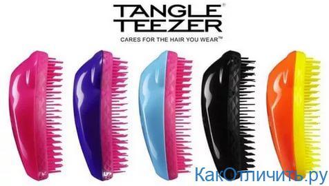 Tangle teezer как отличить подделку от оригинала