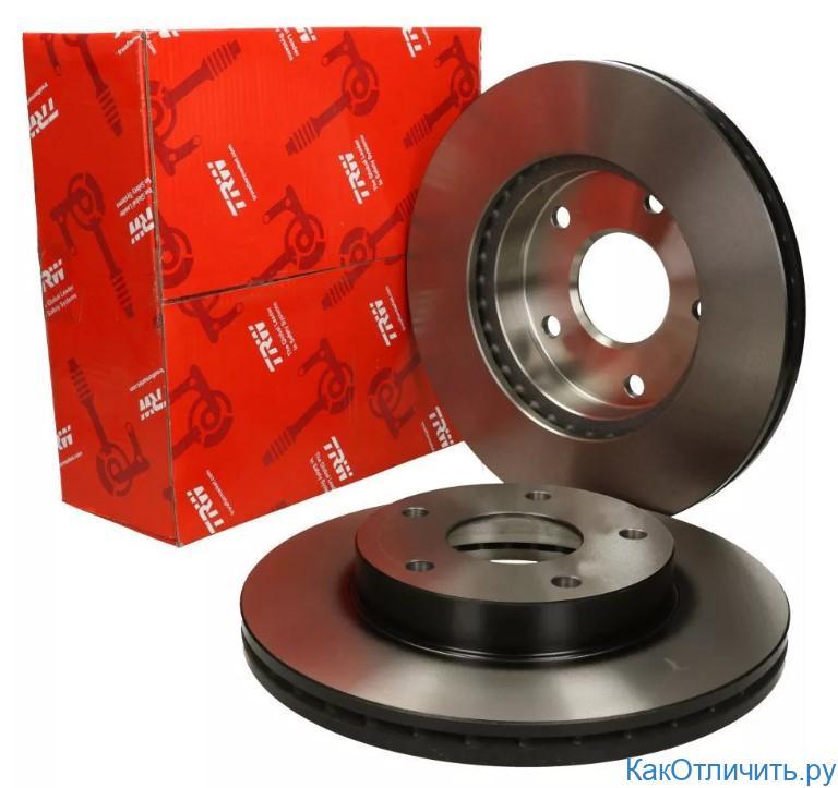 Тормозные диски TRW
