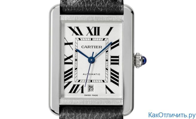 Оригинал Cartier Tank Solo