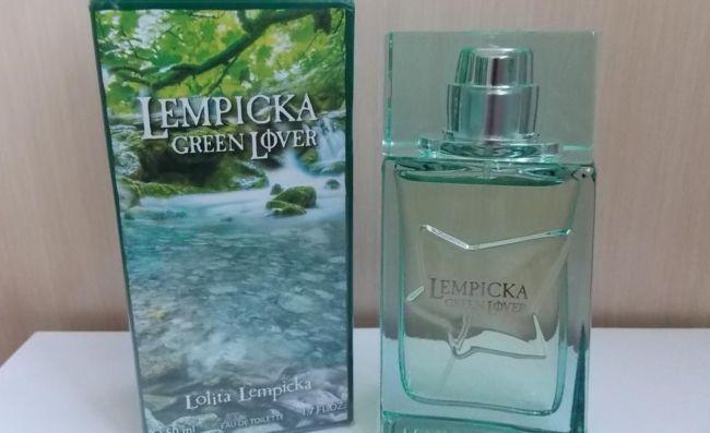 Green Lover Lolita Lempicka
