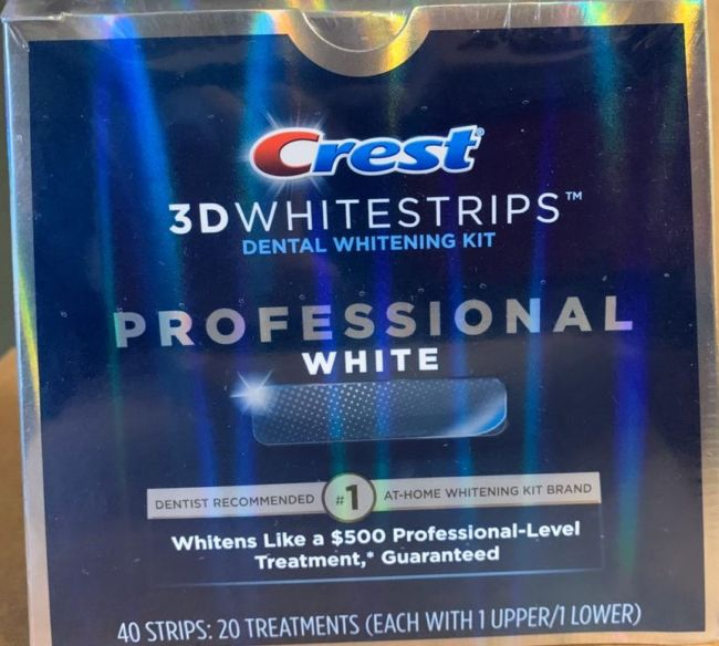CREST WHITSTRIPS