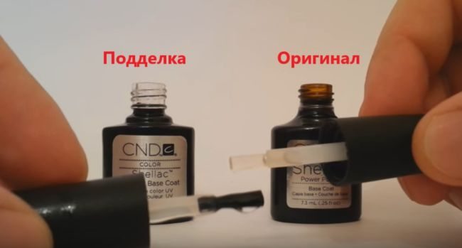 Отличия кисточки Shellac CND