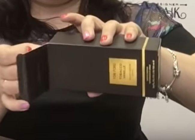 Коробка подделки TOM FORD