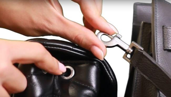 Фурнитура рюкзака оригинала Saint Laurent