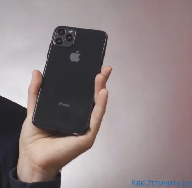 Задняя панель подделки iPhone 11 Pro Max