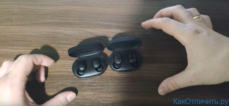 Наушники Airdots и Mi True Wireless Earbuds