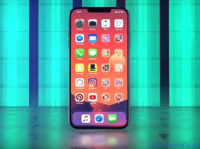 Экран оригинала iPhone 11