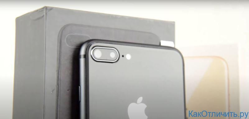 Камеры китайской копии iPhone 8 Plus