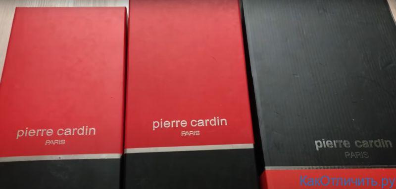 Упаковка обуви Pierre Cardin