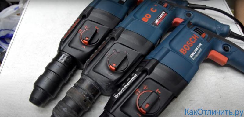 Отличия Bosch GBH 2-26