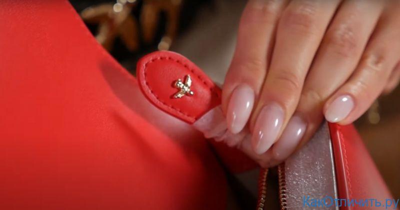 Фурнитура Love bag от Pinko